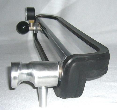 270°-fillet weld-vaccum box