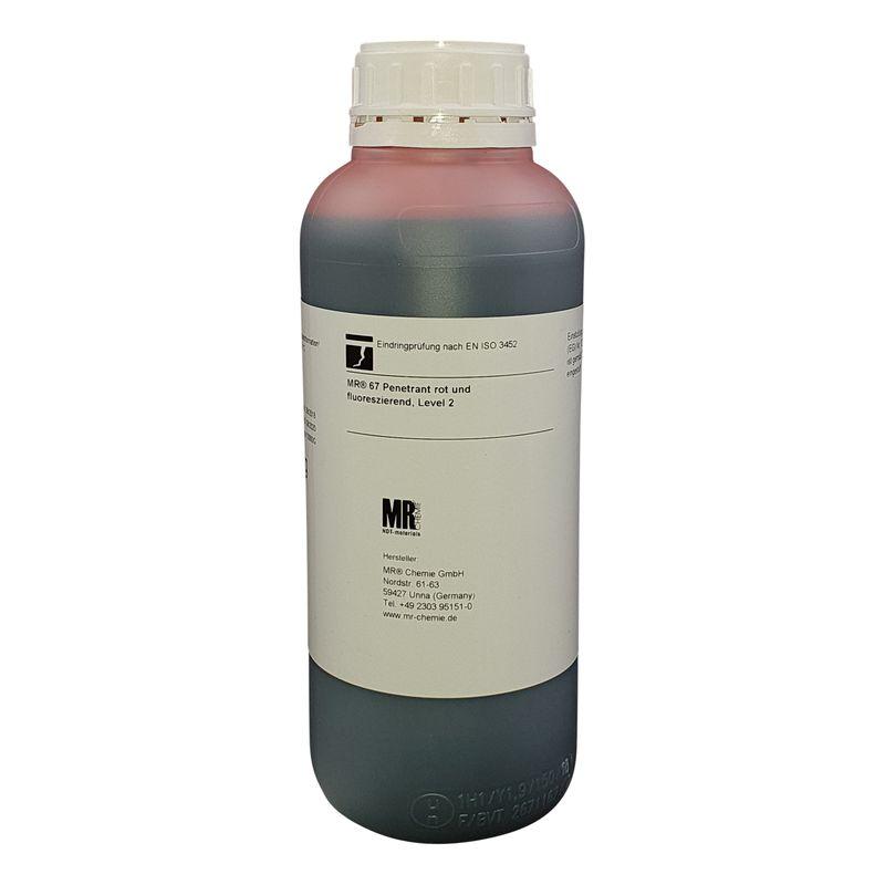MR® 67 Penetrant rot und fluoreszierend