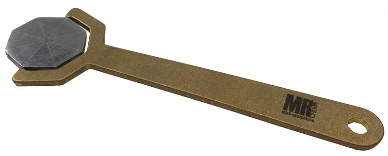 Magnetfeld-Anzeiger nach ASTM E-709 (Pie Gauge)